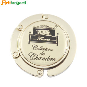 Customized Promotional Foldable Purse Hanger pictures & photos