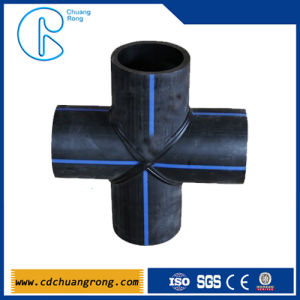 Pipe Plastic Fittings in China (cross) pictures & photos