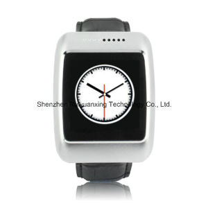 S13 Bluetooth Smartwatch with Leather Strap Pedometer Compatible with Ios pictures & photos