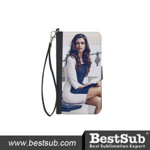 Personalized Sublimation PU Wallet with Strap (QB08) pictures & photos