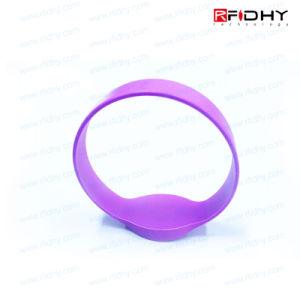 Ntag213 Embossed RFID Wristband for Access Control pictures & photos