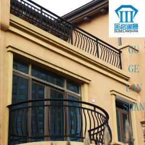 High Quality Wrought Zinc Steel Balcony Guardrail 010 pictures & photos