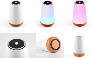 Colorful LED Lamp Bluetooth Speaker pictures & photos