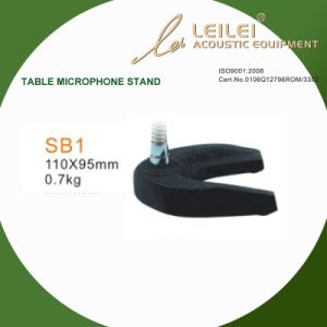 Ajustable Table Microphone Stand Base (SB1) pictures & photos