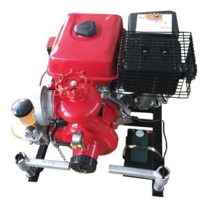 9HP Fire Fighting Pump with Gasoline Engine pictures & photos