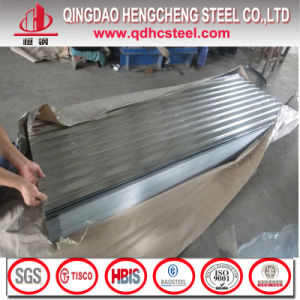 Z100 JIS G3312 28 Gauge Corrugated Steel Roofing Sheet pictures & photos