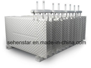 "Cooling System of Brewery Wastewater ""316 Welded Plate Heat Exchanger"" pictures & photos"