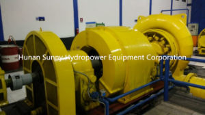 Francis Hydro (Water) -Turbine Generator High Cacpacity 1~10MW /Hydropower / Hydroturbine pictures & photos