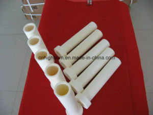 99.5% Al2O3 Ceramic Furnace Tube pictures & photos