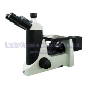 Large Travel Inverted Trinocular Metallurgical Microscope with C-Mount Camera (LIM-302) pictures & photos