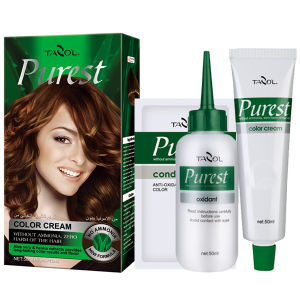 Purest Free Ammonia House Use Hair Color Cream Golden Brown pictures & photos
