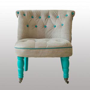 Home Design Furniture Wooden Leg Sofa Chair