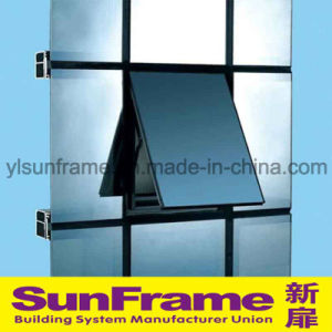 Aluminium Unitized Curtain Wall with Exposed Frame pictures & photos