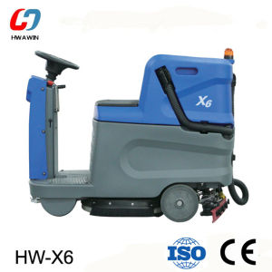 Mini Driving Type Floor Scrubber Dryer with Ce pictures & photos