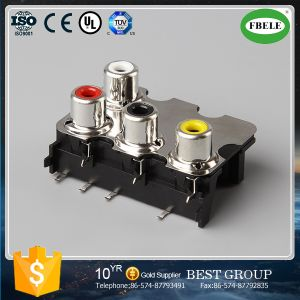 New Product RCA Lotus AV Socket pictures & photos