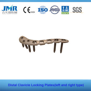 Ce China Fully Stocked Distal Clavicle Locking Plates LCP Plates pictures & photos