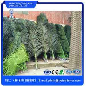 Self Supporting Camouflaged Palm Tree Steel Telecommnication Tower pictures & photos
