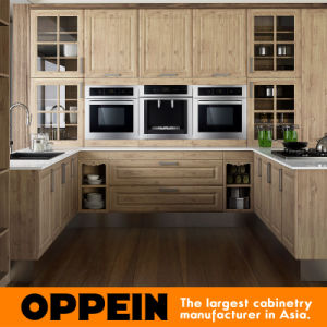 Indonesia Antique PP MDF Wooden Kitchen Furniture (OP15-PP08) pictures & photos