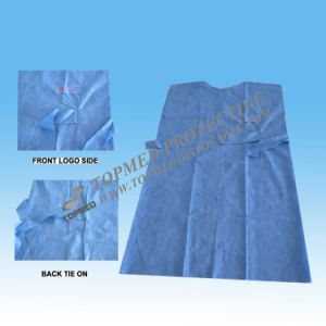 Medical Surgical Gown, Made of Ppsb Nonwoven Fabric pictures & photos
