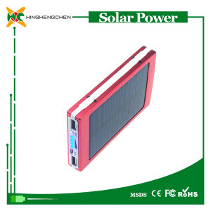 Wholesale 6000mAh Quick Charging Solar Power Bank pictures & photos