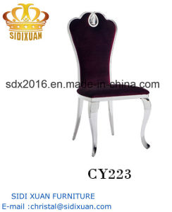 Hot Selling Home Furniture Stainless Steel Dining Chair pictures & photos
