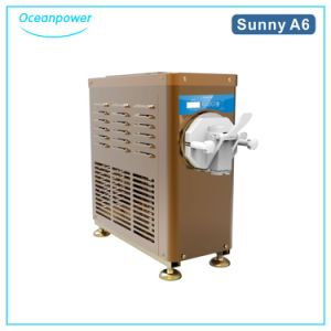 Mini Soft Ice Cream Machine (Oceanpower Sunny A6) (Stainless steel body) pictures & photos