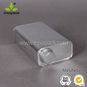 0.5L/1L Rectangular Tin with Screw Top Lid Manufacture for Sale pictures & photos
