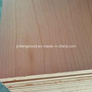 SGS Red Cherry Exported Standard AAA Grade Veneer MDF (1220*2440mm) pictures & photos