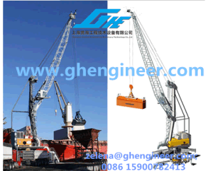 Wide Application Tyre Type Port Travelling Crane pictures & photos