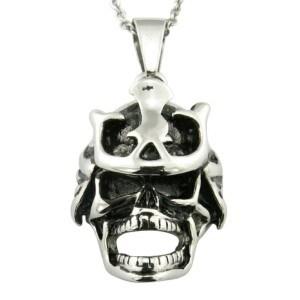 Men′s Silver Punk Skull Movie Pendant pictures & photos