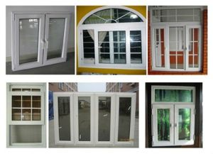Cheap Price Top Hung Double Glazed French Windows pictures & photos