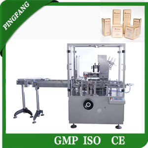 The Newest Model Dz-120p Automatic Bottle Cartoning Machine pictures & photos