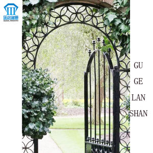 High Quality Crafted Wrought Single Iron Gate 030 pictures & photos