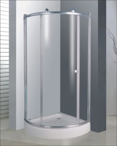 Bathroom 6mm Glass Big Roller One Door Quadrant Shower Enclosure (BR739) pictures & photos