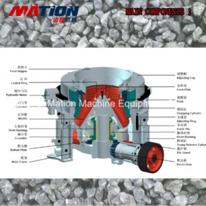 Customized Hydraulic HP Cone Crusher pictures & photos