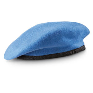 100% Wool Custom Blue Military Beret pictures & photos