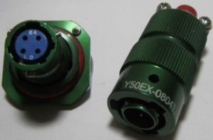 Y50ex-0804 Type Bayonet Connecting Connector pictures & photos