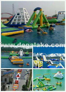 Good Quality Inflatable Floating Water Park / Aqua Amusement Park pictures & photos
