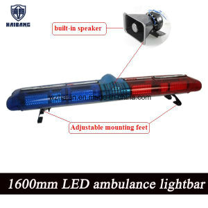 63 Inch LED Warning Lightbar Built-in Speaker for Ambulance, Trucks Chain Manufactures pictures & photos
