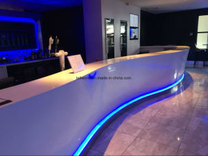 Tw Commercial Night Club Bar Counter / Reception Counter with LED pictures & photos