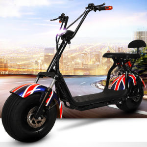 Green Power Lithium Battery Fat Tire Harley Electric Mobility Scooter for Sale Citycoco pictures & photos