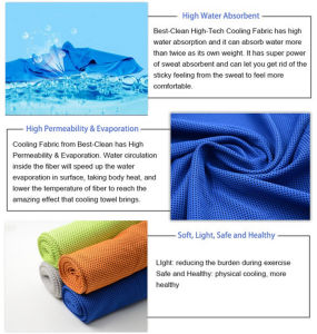 Super Cooling Towel Sport Cool Towel pictures & photos