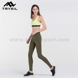 Women Leggings Exercise Workout Athletic Pants pictures & photos