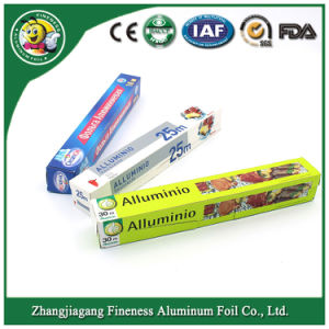 Household and Hotel Use Machine Aluminum Foil Roll for Barbecue pictures & photos