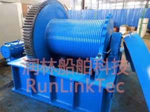 24t Lifting Boat Winch with Electromagnetism Brake/Electrical Winch/Marine Winch pictures & photos