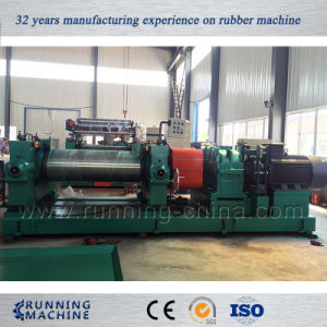 Open Mixing Mill, Two Roll Mill, Open Mill Rubber Sheet Making pictures & photos
