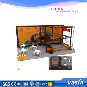 Vasia Expand Rope Courses of Indoor Playground (VS5-160317-90A-31B) pictures & photos