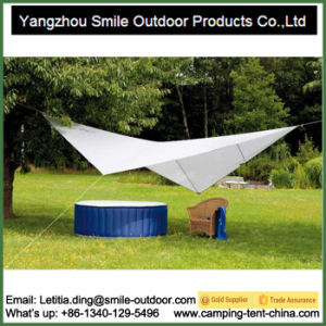 Hot Sale Portable UV50+ Sand Anchor Canopy Beach Tent pictures & photos