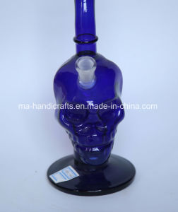 """12"""" Skull Boro Glass Water Pipes with Bent Neck pictures & photos"""