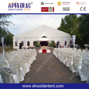 White Color Canvas Fabric Tent with Windows pictures & photos